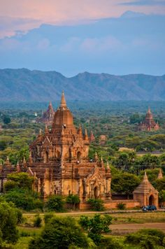 Views over Bagan fro