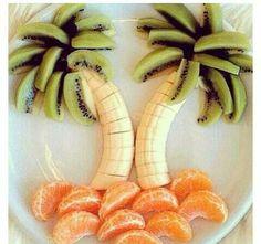 Cute healthy snack