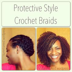 Crochet Braids Itch : that I am growing my hair. This was my first attempt at crochet braids ...