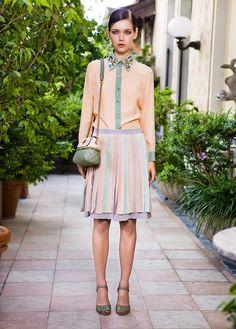 Moschino Resort 2013 Lookbook pastels, fashion, moschino resort, style, designer handbags, resorts, resort 2013, dress, clutch bags