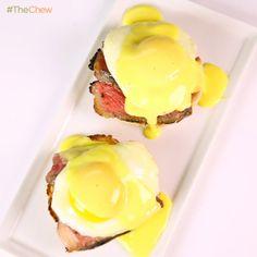 Clinton Kelly's Steak & #EggsBenedict! #TheChew #Breakfast