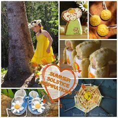 Summer solstice crafts and ideas #summer #kids #solstice #diy