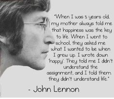 Imagine all the people living life in peace. You may say I'm a dreamer, but I'm not the only one. I hope someday you'll join us, and the world will be as one. ~ John Lennon