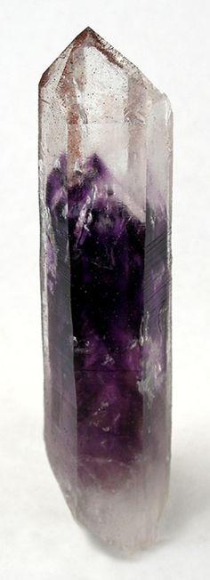 + Quartz with Amethyst phantom