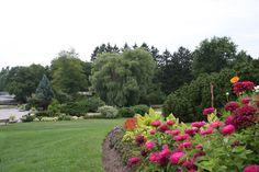 Oakville ON Canada's picturesque Gairloch Gardens.