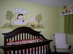 charlie brown nursery