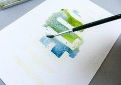 Easy Watercolor Art
