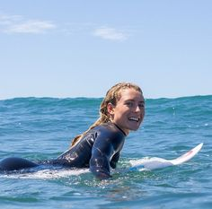 Nikki Van Dijk is all smiles. The water is cooling down fast, head to shop.ripcurl.com and find your perfect wetsuit for the winter.
