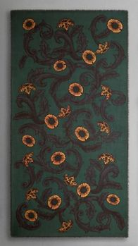 Vine Print Cashmere Scarf | Burberry