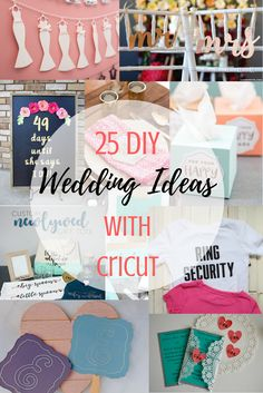 25 DIY Wedding Ideas
