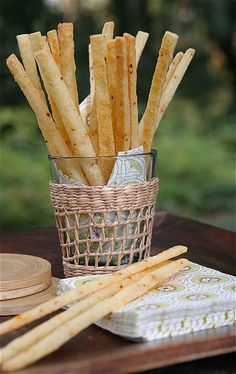 SPICY White Cheddar Cheese Straws...easy to follow recipe