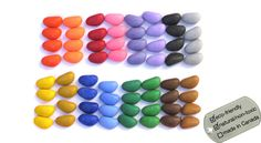 Natural Crayon Rocks for your Eco Kids