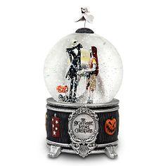 Jack & Sally Snow globe Nightmare Before Christmas