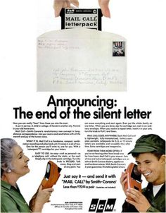Smith-Corona's voice letters by post: dead media - Boing Boing