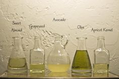 Homemade body oils
