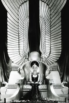 "Claudette Colbert publicity still for Cecil B. DeMille's ""Cleopatra"", 1934"