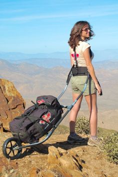 With the Dixon Rollerpack you'll do just that!   The mission of the Dixon Rollerpack Company is to help walking travelers more comfortably enjoy the journey they embark upon. Whether young and athletic, or physically challenged by age or disability, this unit allows one to carry the necessary equipment and supplies to engage in healthy, vigorous exploration of the great outdoors.