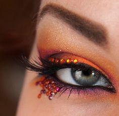 Explosion with Acid crazi makeup, makeup makeup, beauti station