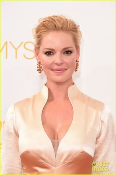 Katherine Heigl in Chopard jewels at the Emmys 2014.