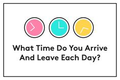 """What Time Do You Arrive And Leave Each Day?  In most workplaces, the number of hours you spend in the office still matters. If you're out the door as soon as the clock strikes 5 p.m. every day or if you regularly show up after 10 a.m., you risk being seen as someone who's putting in the bare minimum, not fully committed to work, or even """"getting away with something.""""  In fact, research shows that even if you have your boss's explicit permission to work a flexible schedule, managers often assume that employees who show up at work later in the day are less conscientious and less effective at their jobs. (The good news? You might be in luck if your manager is a night owl. Researchers also found that night owls are less likely to judge people by what hours they choose to work.)"""
