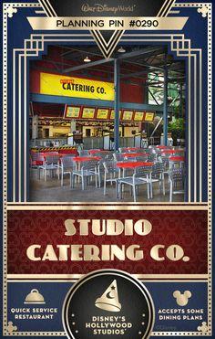 Walt Disney World Planning Pins: Studio Catering Co.