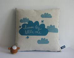 dream big, pillow, baby gifts, little ones, nurseri, cushion, cloud, big little, sweet dreams