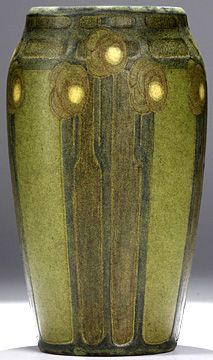 Marblehead Pottery vase c. early 20th cent.