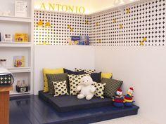 azul + amarelo = <3 RAP arquitetura para Q & E quartos