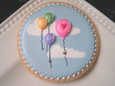 Balloons cookie