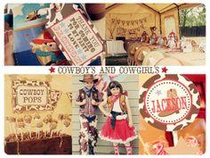 Rootin' Tootin' Western Birthday Party!