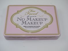 Too Faced No Makeup Makeup Fresh & Flawless Face Palette Spring 2013