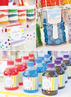 Rainbow Paint Party // Hostess with the Mostess®