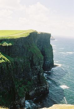 Cliffs of Moher, in Ireland