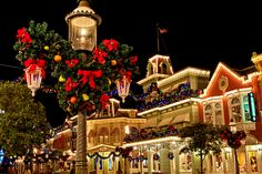 Disney at Christmas...on the bucket list, to be crossed off Thanksgiving Break