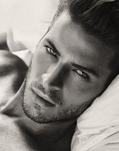 Geeze...can get lost in those eyes. eye candi, lip, guy, pari, leandro lima, beauti, sexi men, hazel eyes, bedrooms