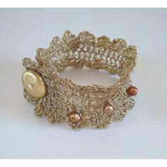 Free Crochet Wedding Jewelry Patterns : CROCHETED WIRE BRIDAL JEWELRY ? CROCHET PATTERNS