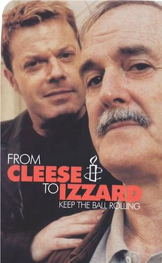 Two comedians currently on tour, Johnny Cleese & Eddie Izzard