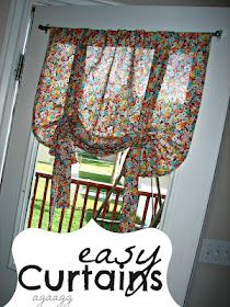 diy curtains hmm def a diff pattern but cute!