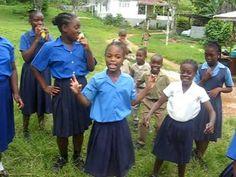 Jamaican children ring games