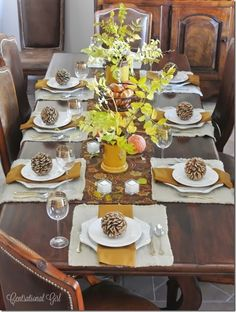 Thanksgiving Decor and Free Printables Part 9 to Miss Information's Complete Guide to Thanksgiving / #thanksgiving #decor #decorations #printables