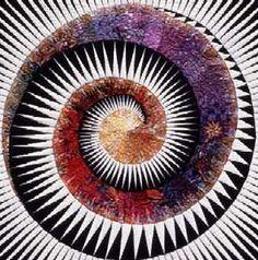 spiral art quiltquiltscapes.com