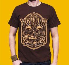 Yarmouth Clam Festival, t-shirt design by Arace KMD