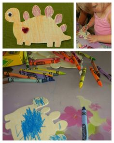 A Couple of Craft Addicts: Dinosaur themed play date
