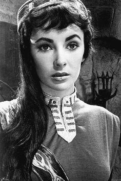 Elizabeth Taylor in 'Ivanhoe', 1952.