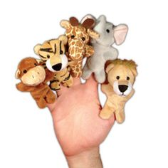 Fabulous party bag gifts for 1st birthday parties or baby birthday parties. We love these soft finger puppets.