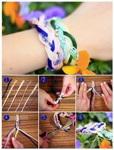 DIY Quick Braided Bracelet   DIY & Crafts Tutorials