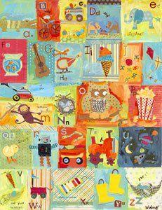 Art Auction - another alphabet idea