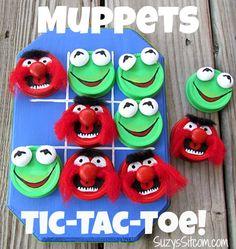 Make a fun Muppets Tic-Tac-Toe Game!