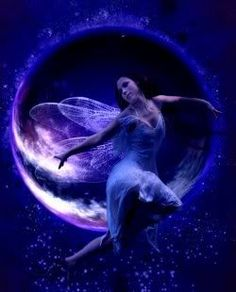 Moon Fairy | Moon Fairy Image, Graphic, Picture, Photo - Free
