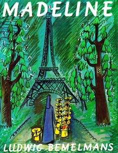 """""""In an old house in Paris, that was covered in vines, lived twelve little girls in two straight lines...the smallest one was Madeline."""" Kidfolio - the app for parents - kidfol.io"""